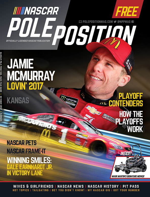 NASCAR Pole Position Kansas in October 2017