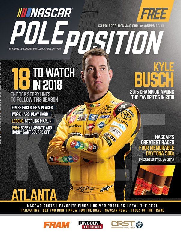 NASCAR Pole Position Atlanta in February 2018