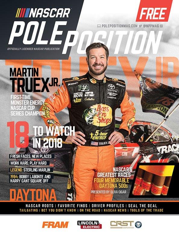 NASCAR Pole Position Feb/March 2018