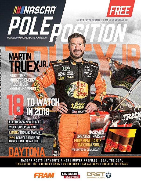 NASCAR Pole Position Daytona in February 2018