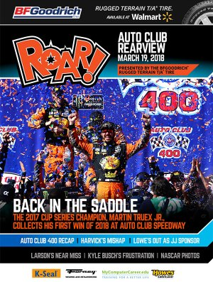 ROAR Auto Club Rearview March 2018