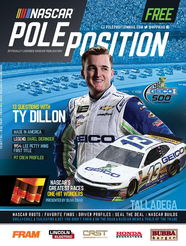 NASCAR Pole Position Talladega in April 2018