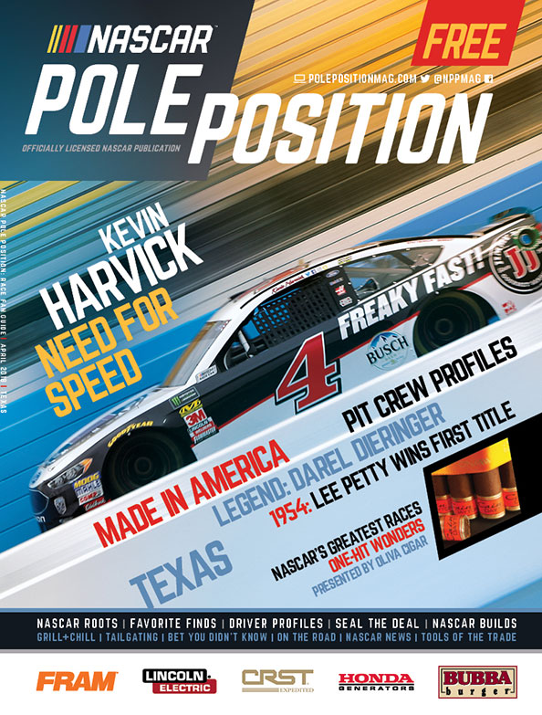 NASCAR Pole Position Texas in April 2018