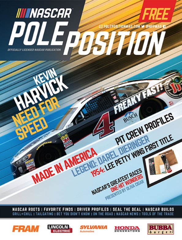 NASCAR Pole Position April/May 2018