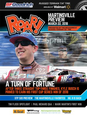 ROAR Martinsville Preview March 2018