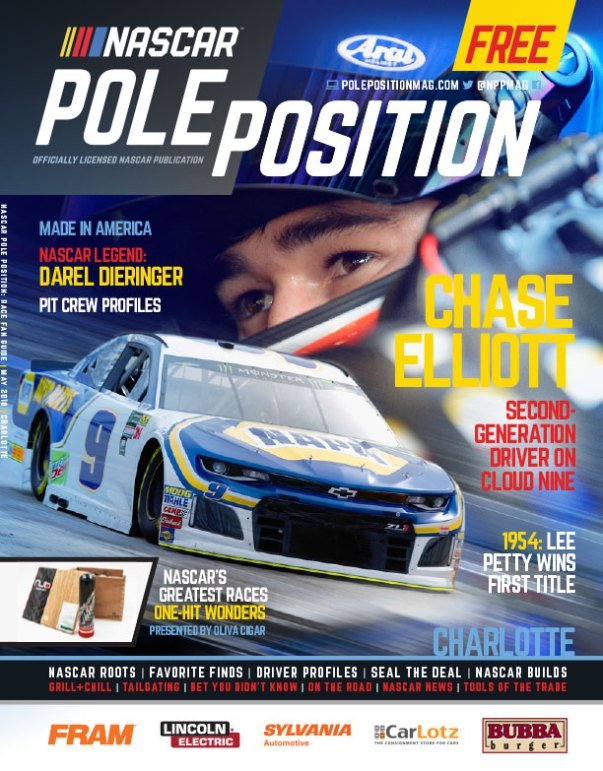 NASCAR Pole Position Charlotte in May 2018
