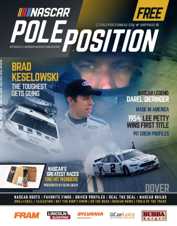 NASCAR Pole Position Dover May 2018