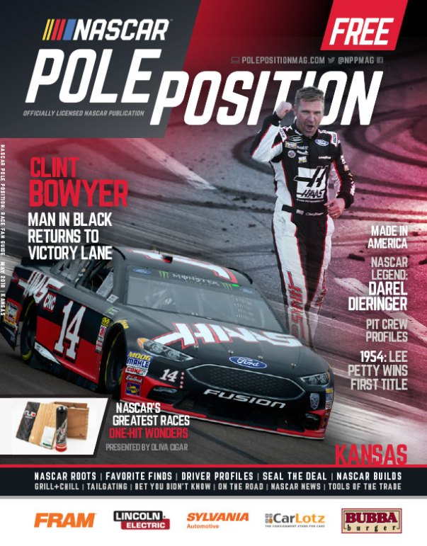 NASCAR Pole Position Kansas in May 2018
