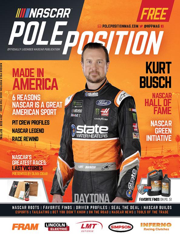 NASCAR Pole Position Daytona July 2018