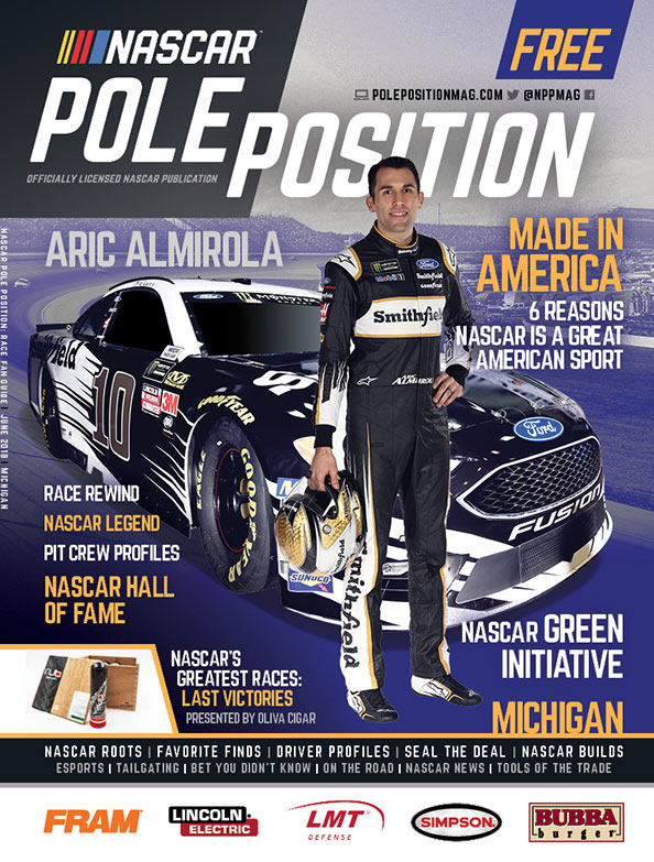NASCAR Pole Position Michigan June 2018