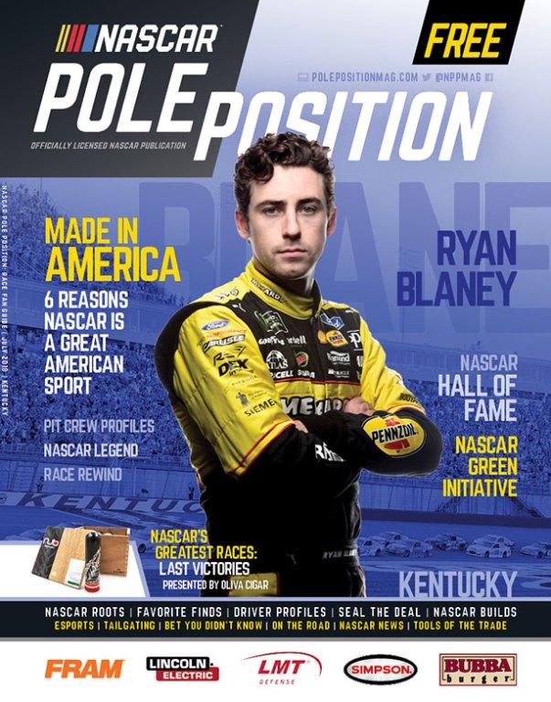 NASCAR Pole Position Kentucky in July 2018