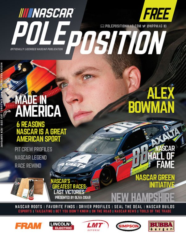 NASCAR Pole Position New Hampshire in July 2018