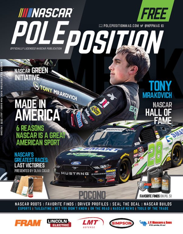 NASCAR Pole Position Pocono July 2018