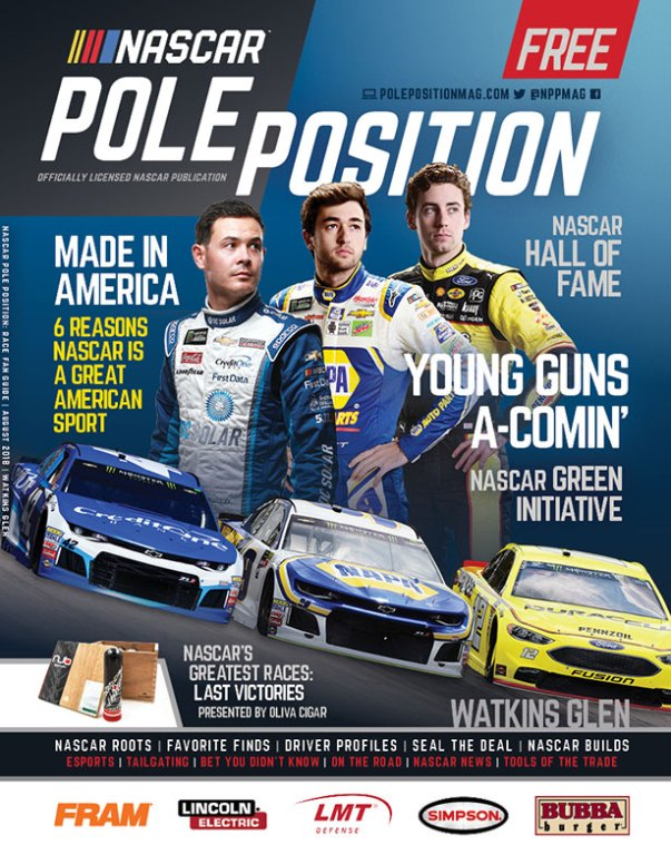 NASCAR Pole Position Watkins Glen July 2018