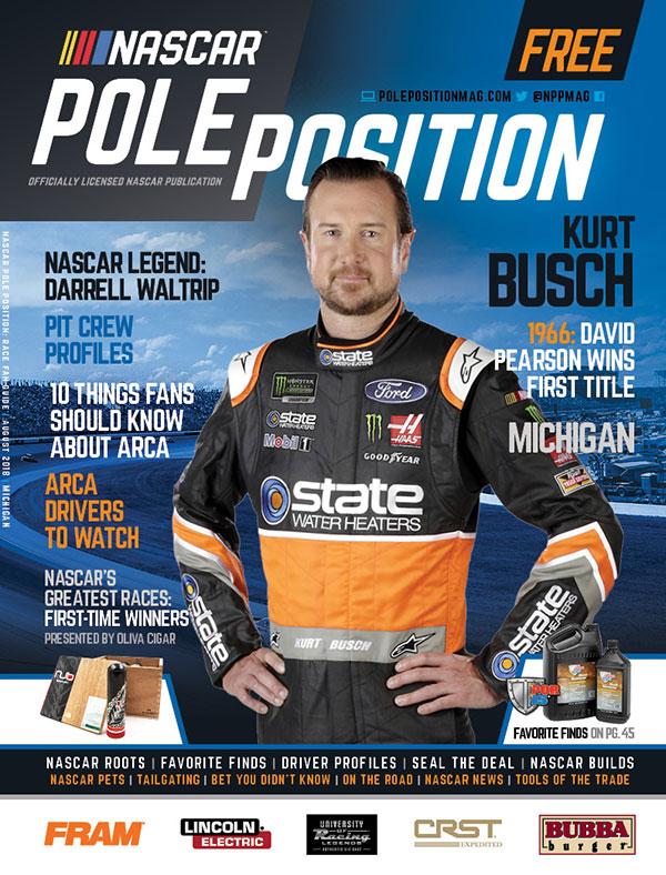 NASCAR Pole Position Michigan August 2018