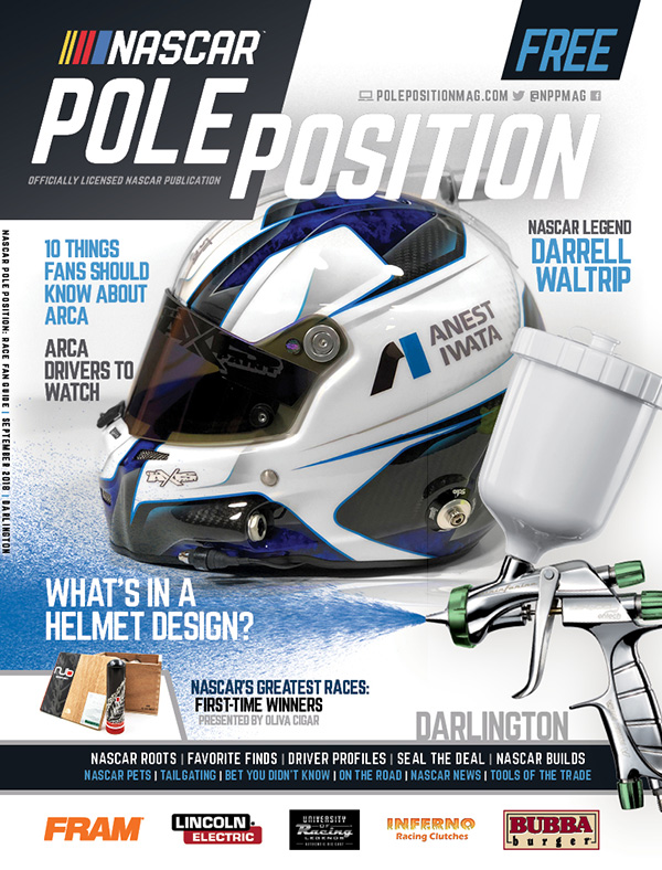 NASCAR Pole Position Darlington in September 2018