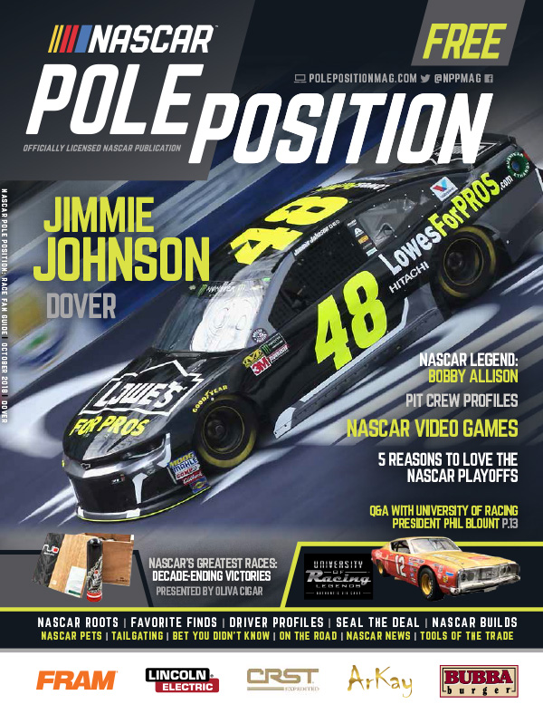 NASCAR Pole Position Dover October 2018
