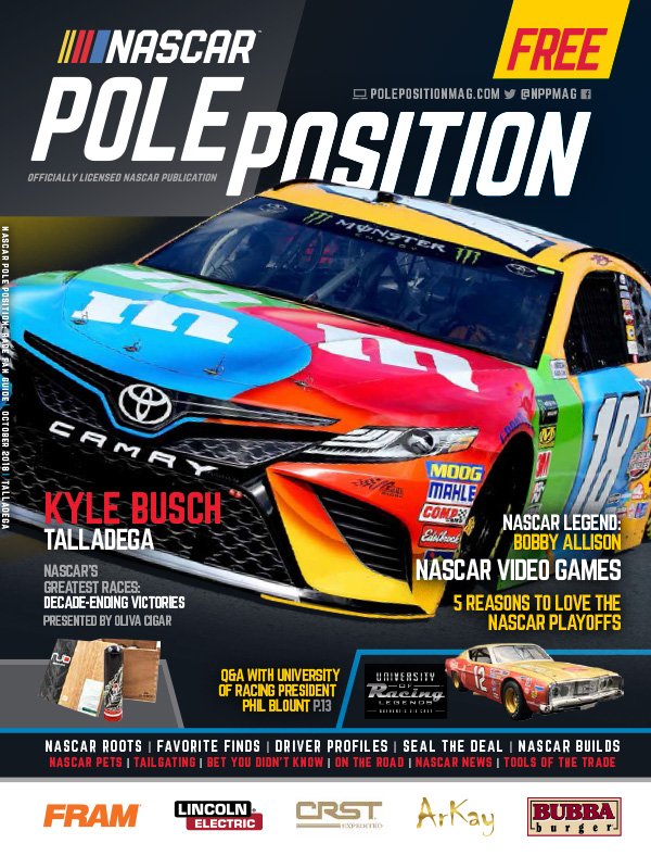 NASCAR Pole Position Talladega October 2018