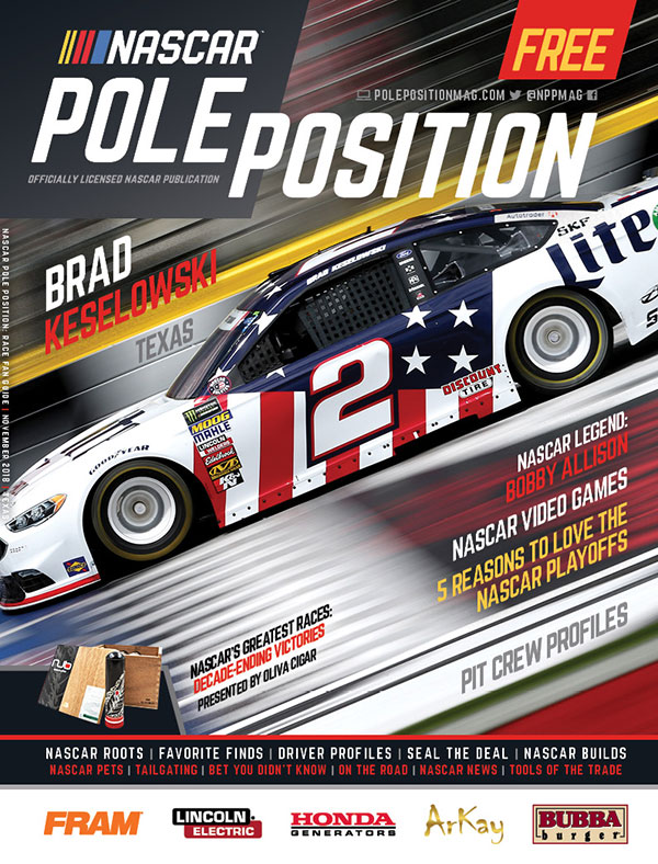 NASCAR Pole Position Texas November 2018