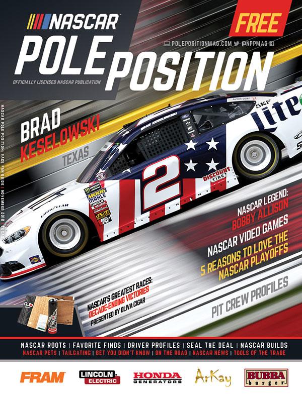 NASCAR Pole Position Texas in November 2018