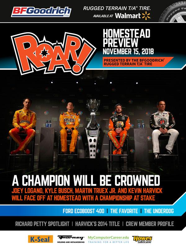 ROAR! Miami Race Weekend Preview November 2018