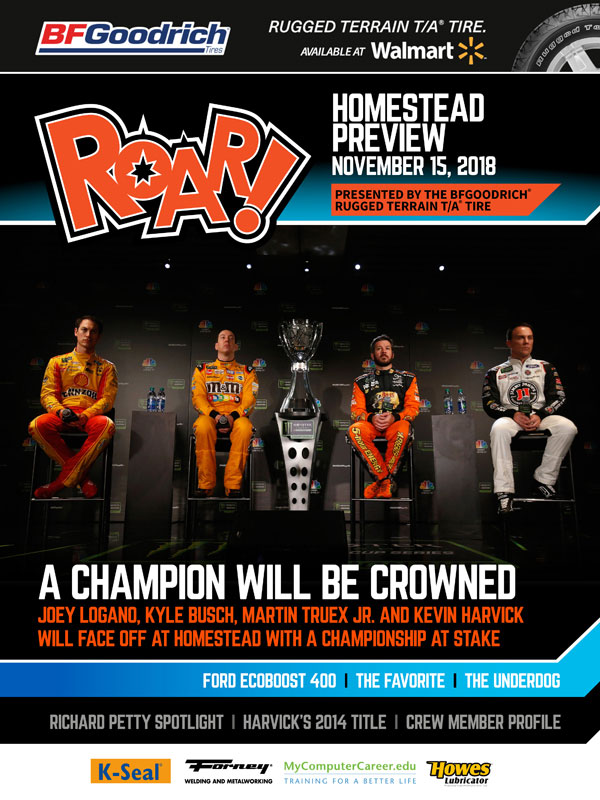 ROAR Miami Preview November 2018