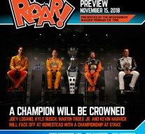 ROAR Miami Preview November 2018