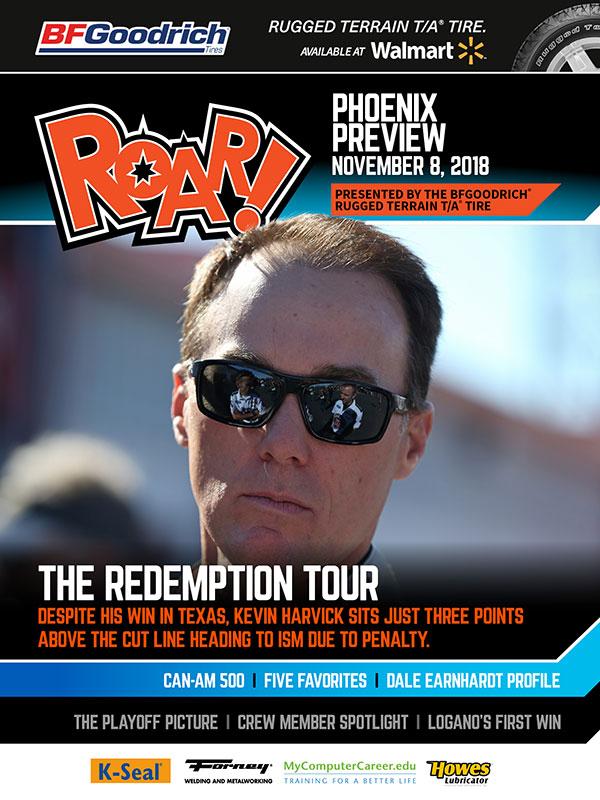 ROAR! Phoenix Race Weekend Preview November 2018