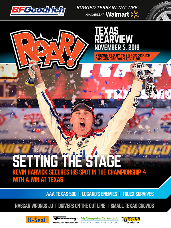 ROAR Texas Rearview November 2018