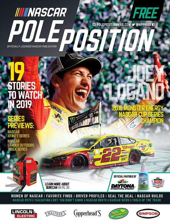 NASCAR Pole Position Feb/March 2019