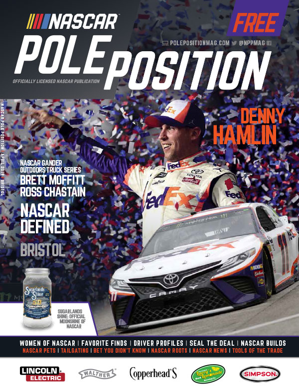 NASCAR Pole Position Bristol in April 2019