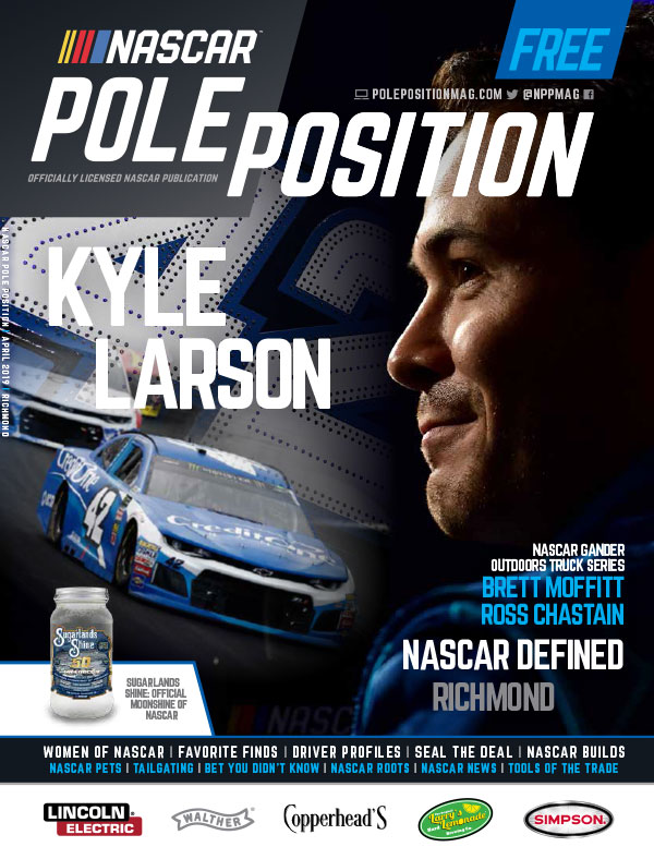 NASCAR Pole Position Richmond in April 2019