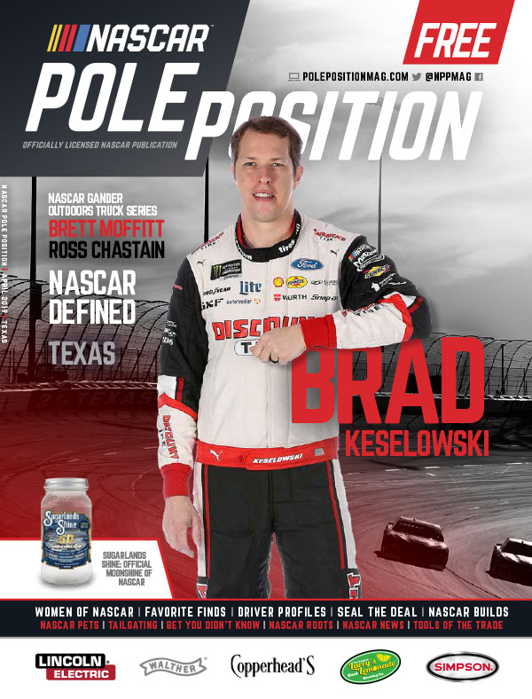 NASCAR Pole Position Texas in March 2019