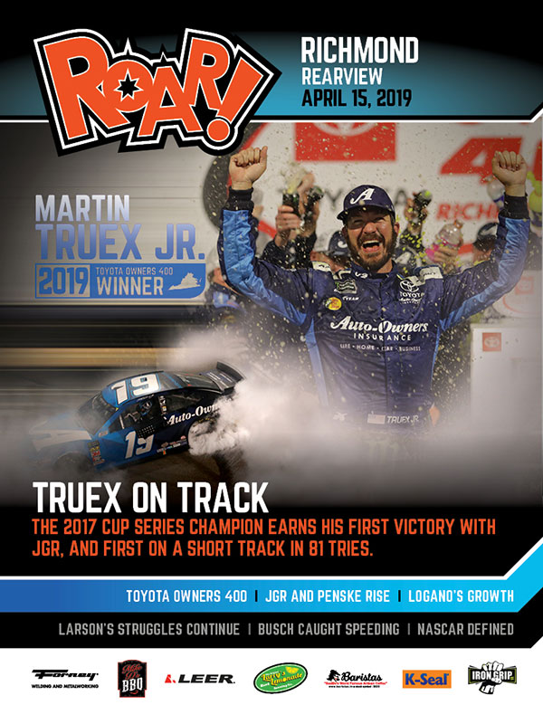 ROAR Richmond Rearview April 2019