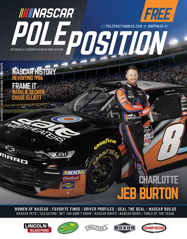NASCAR Pole Position Charlotte May 2019