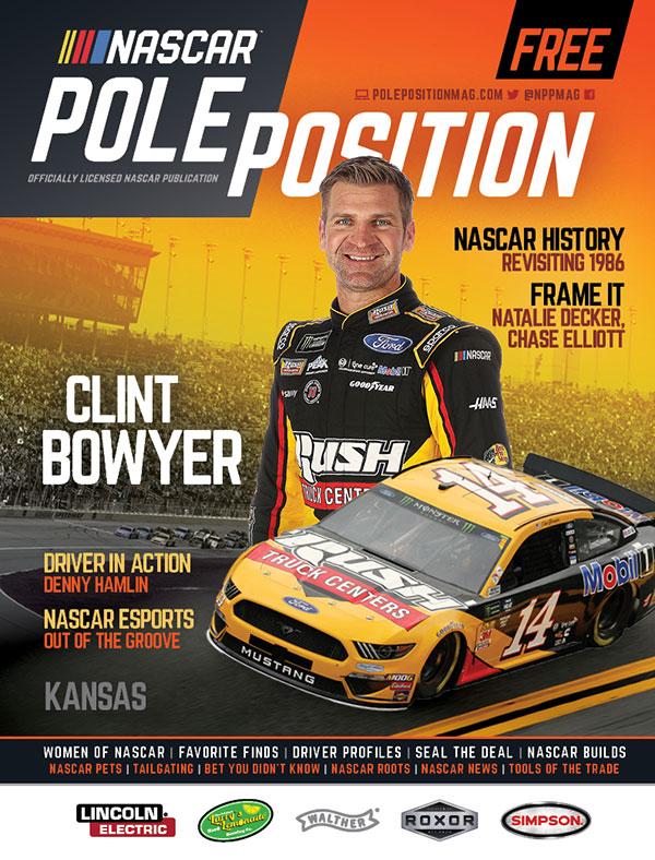 NASCAR Pole Position Kansas in May 2019