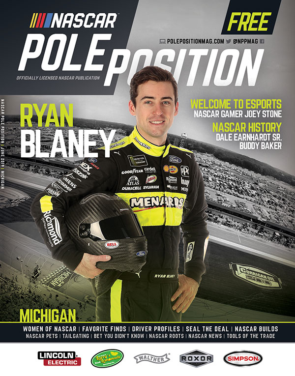 NASCAR Pole Position Michigan June 2019