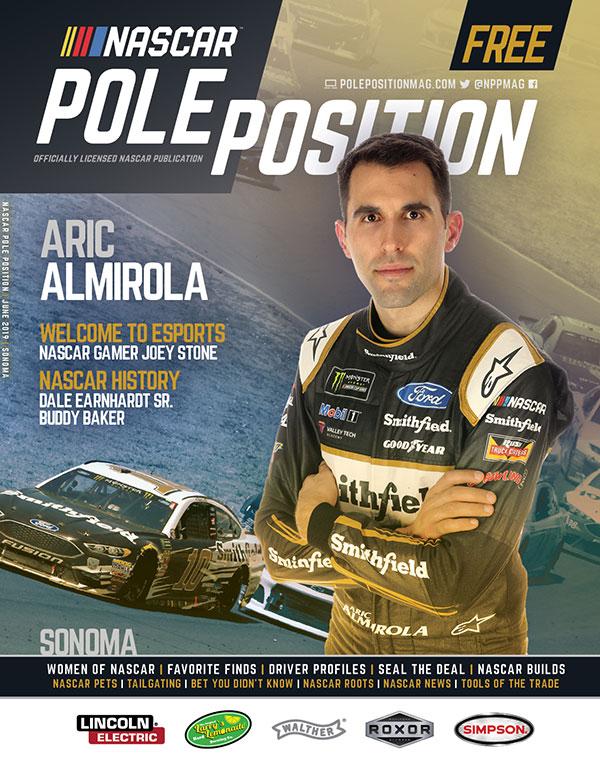 NASCAR Pole Position Sonoma in June 2019