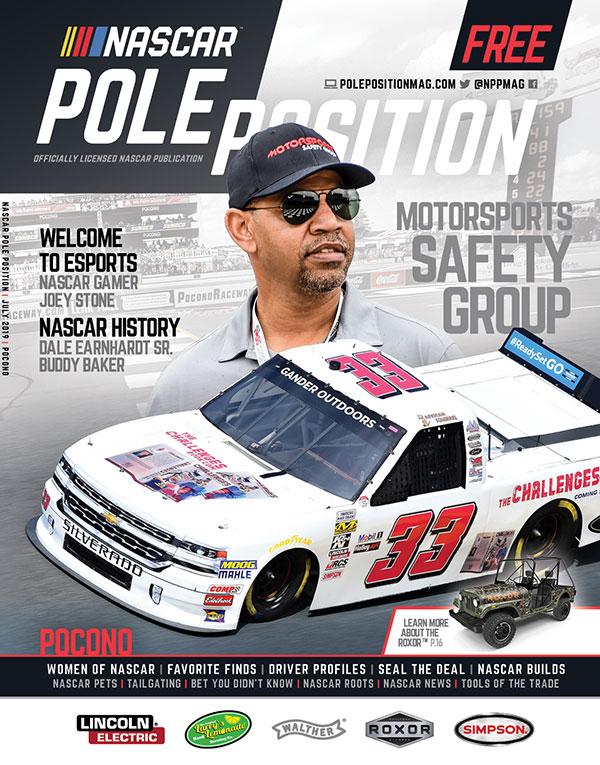 NASCAR Pole Position Pocono in July 2010