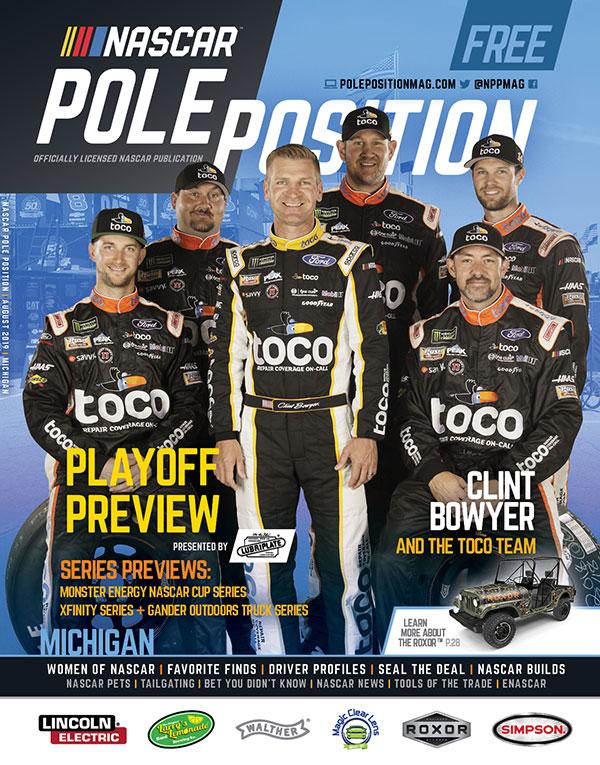 NASCAR Pole Position Michigan August 2019