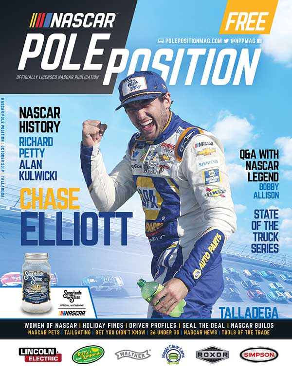 NASCAR Pole Position Talladega October 2019