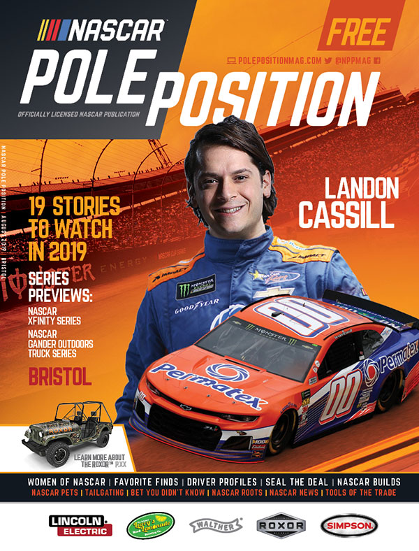 NASCAR Pole Position Bristol in August 2019