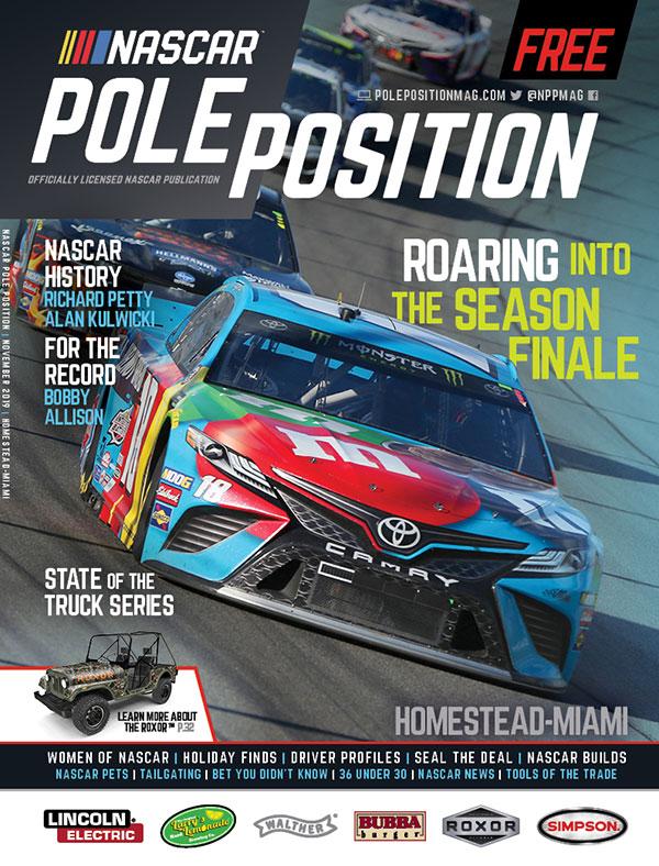 NASCAR Pole Position Homestead in November 2019