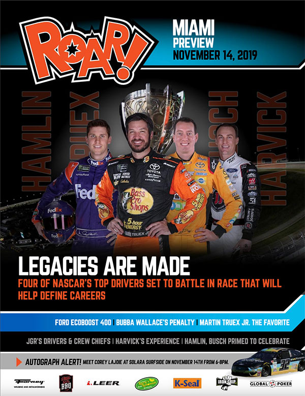 ROAR! Homestead-Miami Race Weekend Preview November 2019