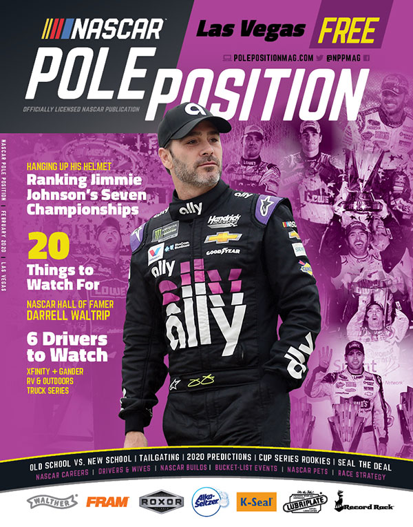 NASCAR Pole Position Las Vegas in February 2020