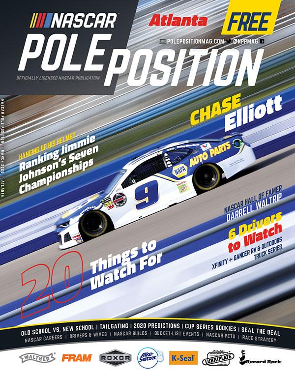 NASCAR Pole Position Atlanta in March 2020