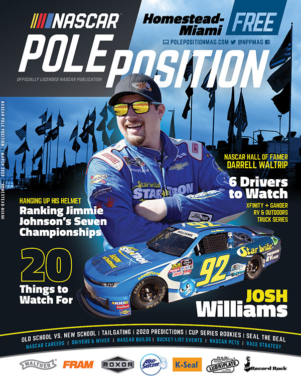 NASCAR Pole Position Homestead-Miami in March 2020
