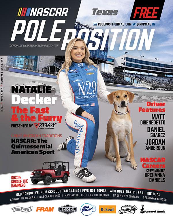 NASCAR Pole Position Texas in March 2020