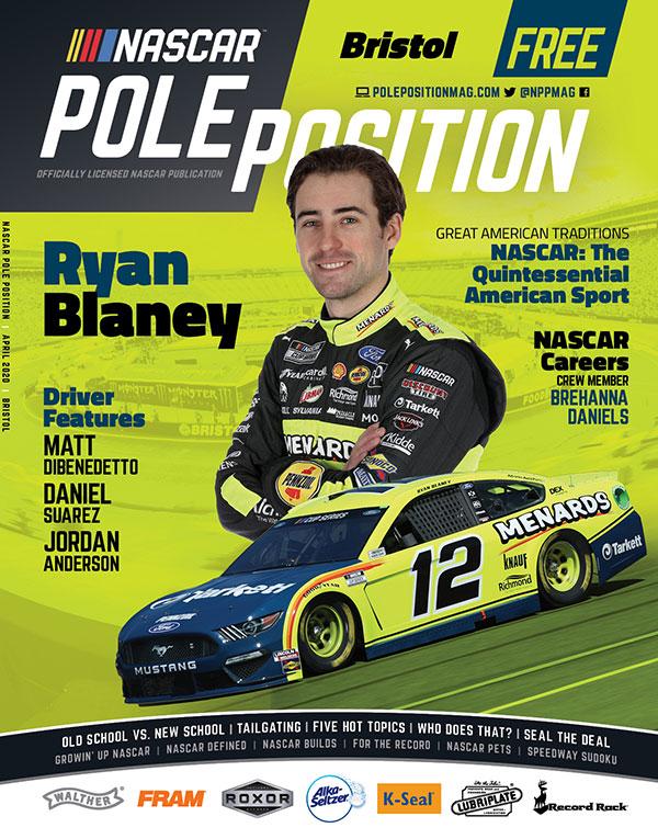 NASCAR Pole Position Bristol in April 2020