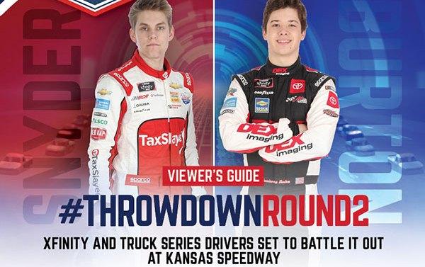 ROAR Pickup Throwdown Viewers Guide eSports iRacing Truck Series Kansas